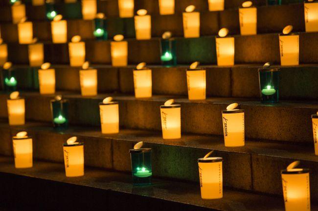 【終了】優しい光が作りだす幻想的な光景。増上寺で「100万人のキャンドルナイト」開催