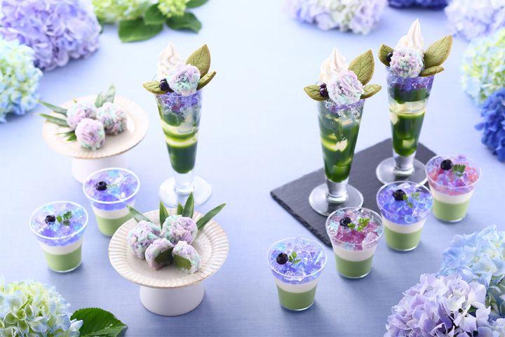 【終了】紫陽花パフェにうっとり。京都で「抹茶×紫陽花まつり2019」開催中