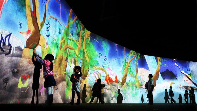 【終了】山陰エリア初!「チームラボ 学ぶ!未来の遊園地」が鳥取・米子市美術館にて開催