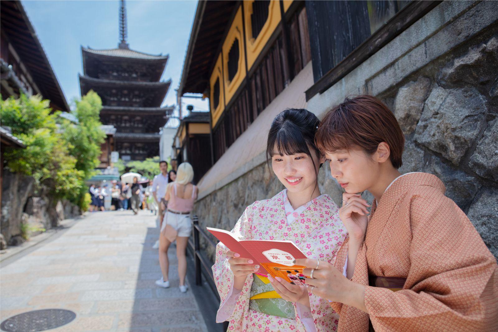 """""""しおり""""で叶える特別旅。京都の最旬スポットを巡る1泊2日女子旅"""