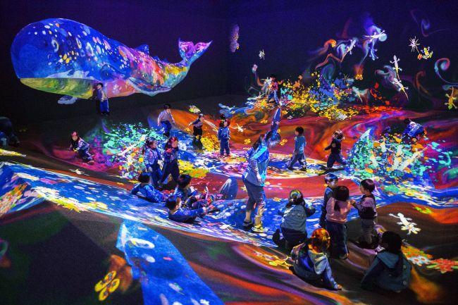 【終了】計5作品を展示!長崎にて「チームラボ 学ぶ!未来の遊園地」開催