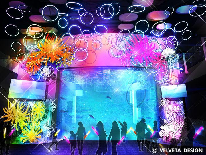 【終了】ヒカリがテーマの美しい空間に。「えのすいワンダーアクアリウム2019 」開催