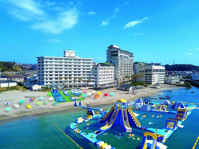"""夏の家族レジャーで行きたい!日本最大級""""勝浦ウォーターアイランド""""勝浦にオープン"""