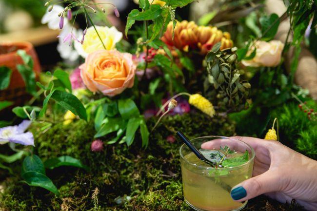 オリジナルの煎茶モクテルを。三軒茶屋で「飲むイベント植物園@東京茶寮」開催