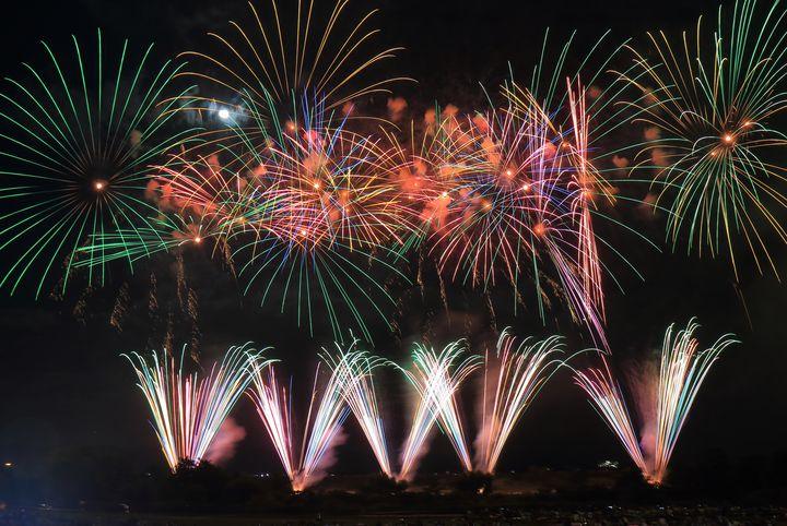 【終了】2万発も打ちあがる北陸最大級の花火大会、「川北まつり北國大花火川北大会」が今年も開催