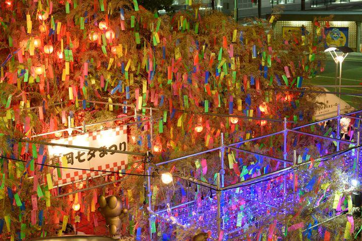 【終了】高さ20mのジャンボ七夕は必見!伝統ある夏の風物詩「高岡七夕まつり」が開催