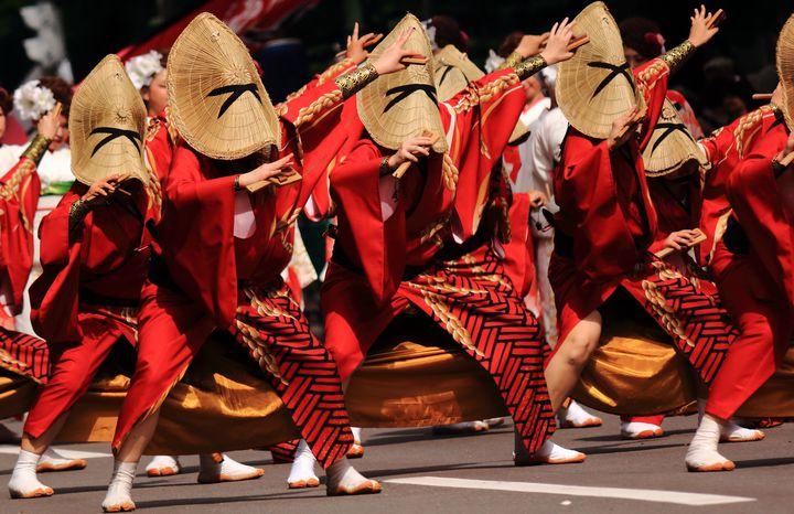 【終了】夏を彩るアツい踊りの祭典!「YOSAKOI安曇野」開催
