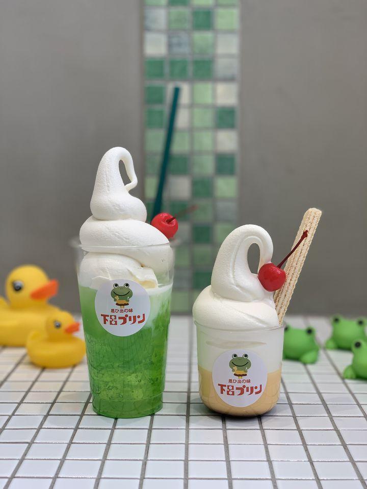 この夏をエモい夏に。下呂プリンで「下呂メロンソーダ」&「下呂プリンソフト」が発売