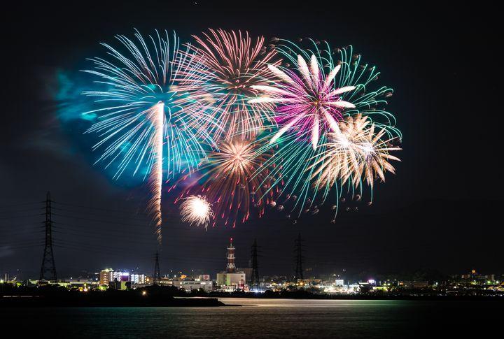 【終了】江戸時代から続く愛知県の「田原祭り・五町合同花火大会」が今年も開催