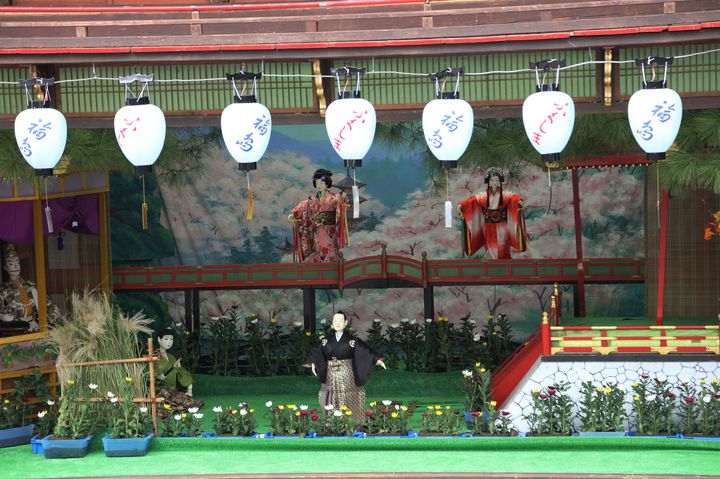 【明日から】歴史あるからくり人形のお祭り?福岡県で「八女福島の灯篭人形」開催