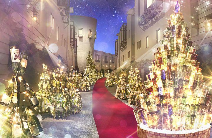 ワイン×クリスマスで恋人と優雅なクリスマス。「八ヶ岳クリスマスタウン2019」開催