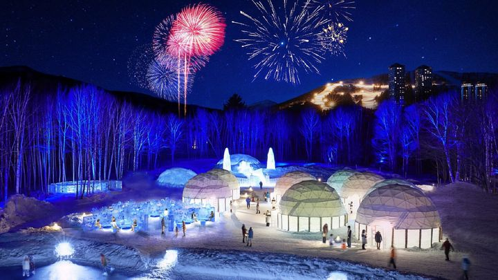 冬こそ北海道で思い出作り。幻想的な空間「アイスヴィレッジ」が期間限定オープン