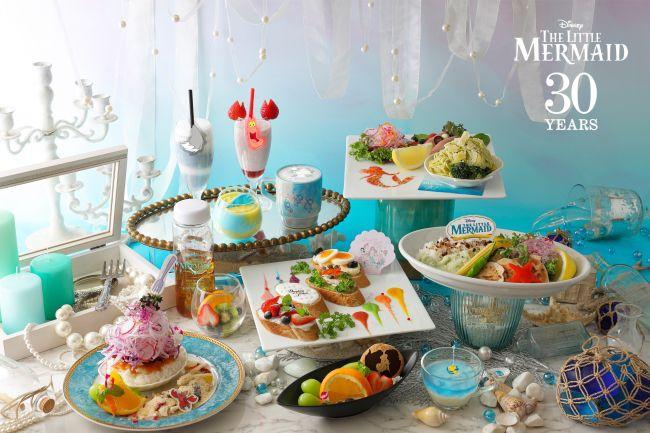 「リトル・マーメイド」のカフェ!東京大阪名古屋北海道に期間限定オープン
