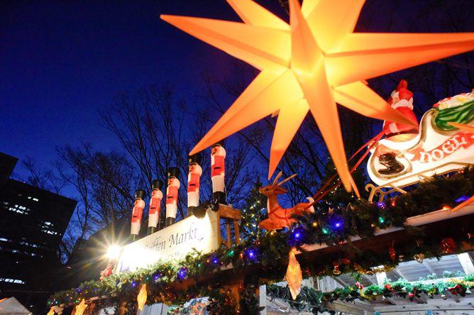 東京タワーとのコラボも!都立芝公園にて「東京クリスマスマーケット2019」開催