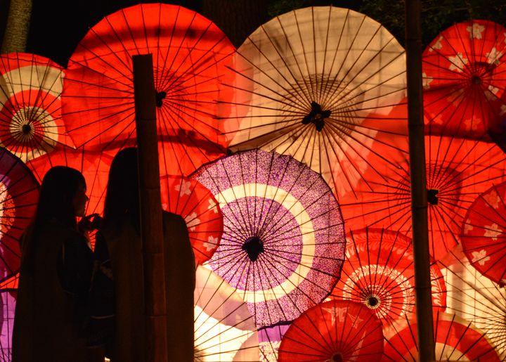 【終了】幻想的な景色に魅せられる。「月あかり花回廊」鬼怒川で開催