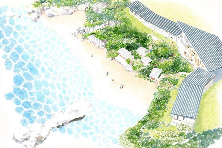圧倒的な絶景とスケールを誇る海カフェ。沖縄に「星野リゾート バンタカフェ」オープン