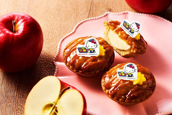 """【開催中】人気キャラクターとパブロがコラボ。期間限定で""""ハローキティのアップルパイ""""が登場"""