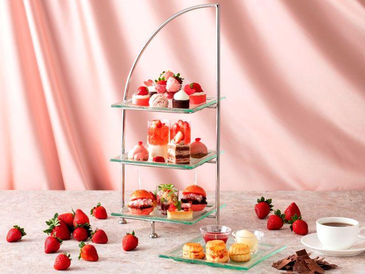 【終了】イチゴに魅せられて。横浜で「いちごとチョコレートのアフタヌーンティー」開催