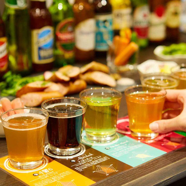 隠れ家空間で自分好みのビールを。「ROYAL CLAFT ALE」福岡・天神にオープン