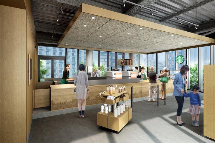 """未来につながる新店舗。大阪・梅田の真ん中に""""スターバックスの森""""が誕生"""