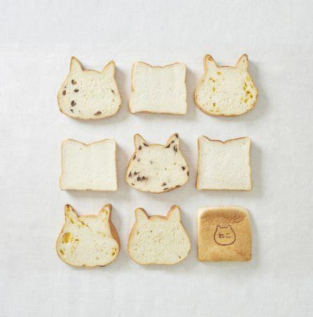 今話題のかわいい猫型食パン!「ねこねこ食パン」東京・静岡に同時オープン