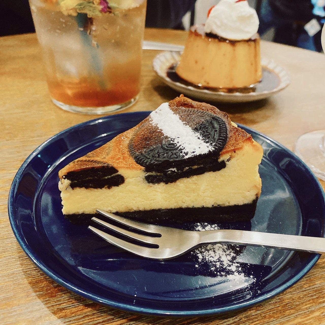 チーズ ケーキ オレオ