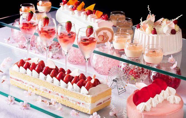【終了】毎回予約殺到の人気ビュッフェ!横浜ベイホテル東急で「桜ジャーニー」開催