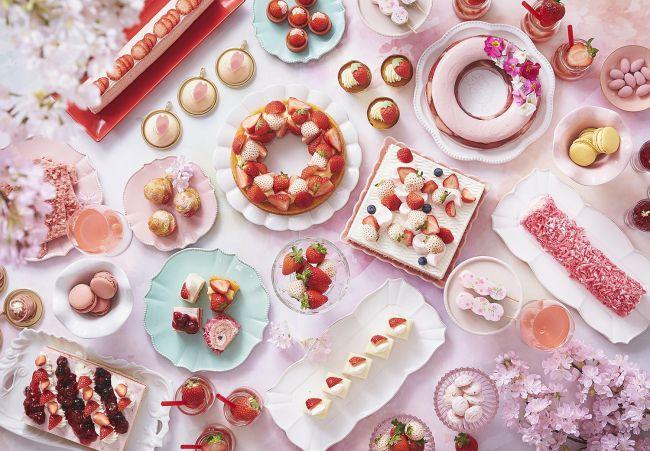 【開催中】白いちごだって惜しみなく。「いちごスイーツビュッフェ 第2弾 いちごブロッサム」大阪ホテルで開催