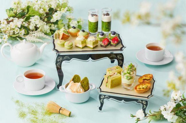 【開催中】新茶の季節にごゆるりと。表参道にて「抹茶 アフタヌーンティー」期間限定で登場