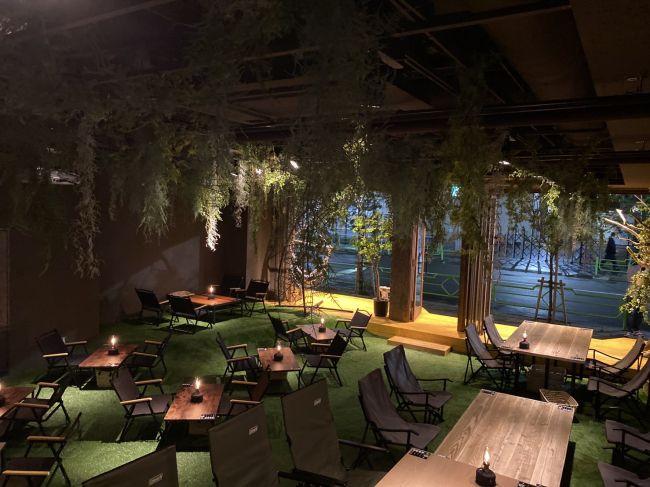 都会でキャンプ×カフェが!「REWILD OUTDOOR TOKYO」オープン