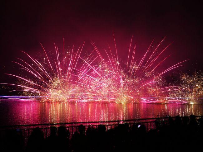 【終了】元気・勇気・希望を送る花火大会。「りんどう湖花火大会」開催