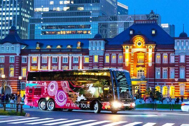 【終了】夜景をWでお楽しみ!東京・絶景夜景と川崎・工場夜景のロンドンバスツアー開催