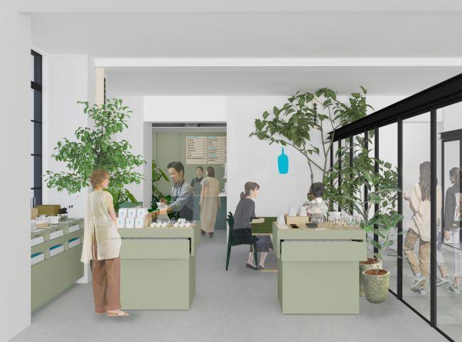 学校をリフォームした学べるカフェ!「ブルーボトルコーヒー」京都木屋町にオープン