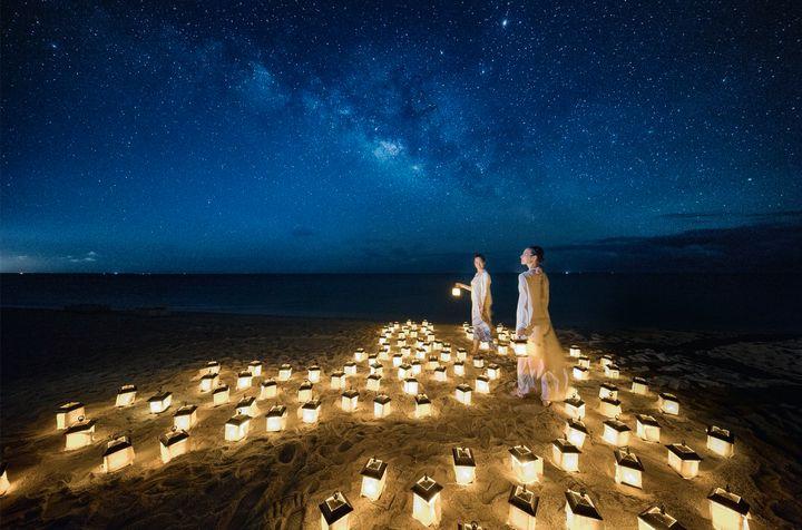 星空の下でハロウィンを。リゾナーレ小浜島にて「星降る夜のビーチハロウィン」開催