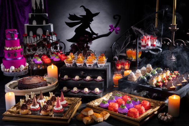 【終了】魔女の住むお城めぐりがテーマ!「ハロウィン・スイーツビュッフェ」開催