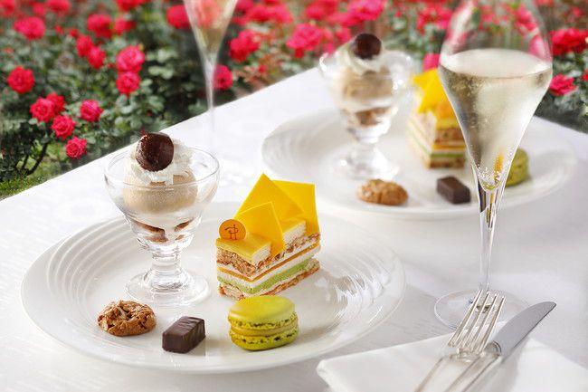 【終了】3万輪のバラに囲まれスイーツも。ホテルニューオータニ東京にて「秋のレッドローズガーデン」開催