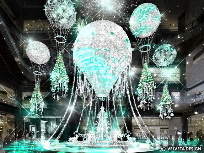 """世界を繋ぐ希望の旅へ。グランフロント大阪で""""クリスマスイベント""""開催"""