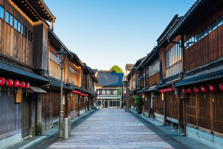 まるで小京都!金沢の「ひがし茶屋」が素敵な場所だった