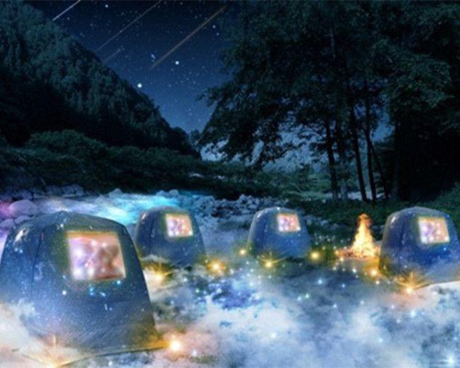 星空を眺めながら、極上のチルアウト。長野県阿智村でテントサウナイベント開催