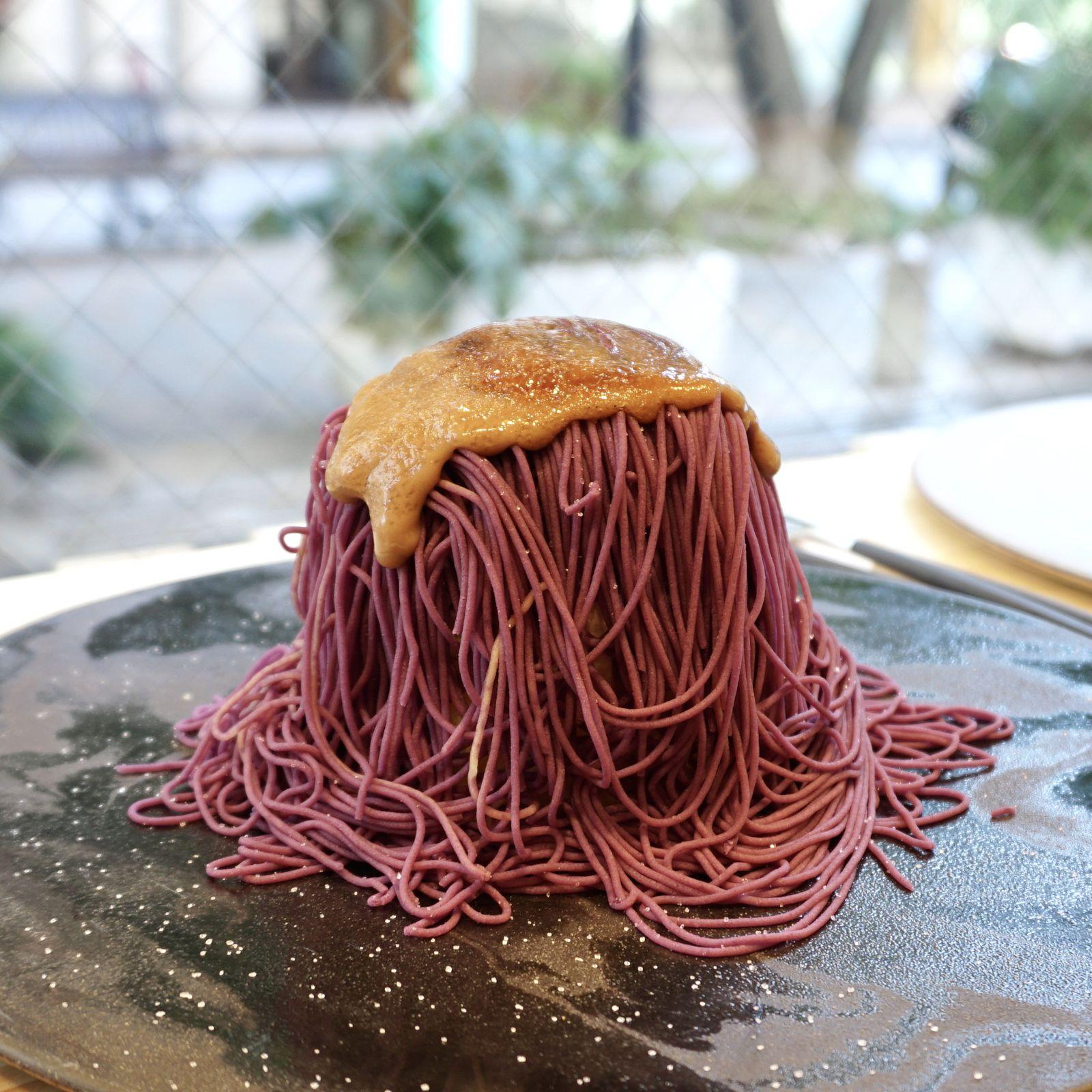 """モンブラン?スイートポテト?「いもこ」の""""おいもモンブラン""""を食べてみた!   RETRIP[リトリップ]"""