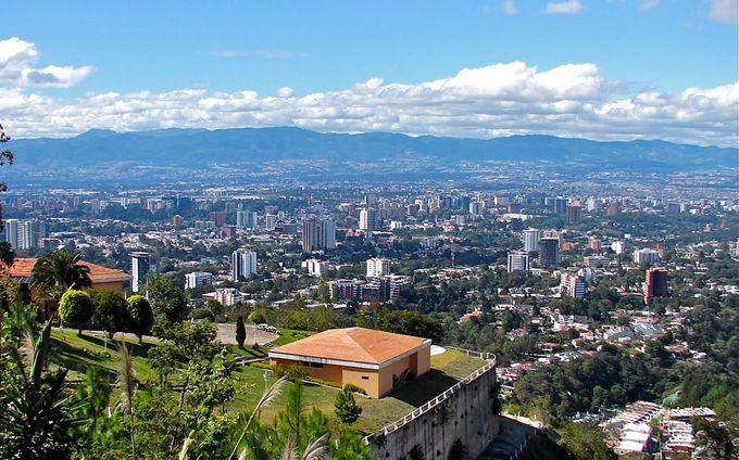 グアテマラシティを一望!