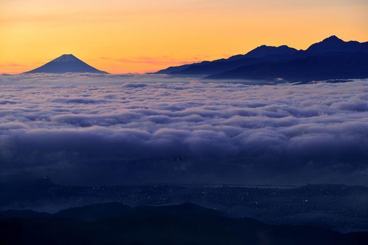 富士山+北アルプス+湖=絶景!「高ボッチ高原」からの景色が素晴らしすぎる