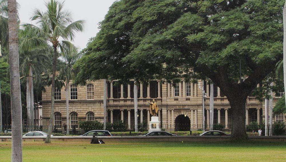 ワード&カカアコからさらに西に進むと、オアフ島の政治とビジネスの中心地「ダウンタウン」があります。周辺は、イオラニ宮殿やカメハメハ大王像、ハワイ州立美術館など歴史と文化の宝庫。