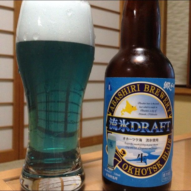 今ネットで話題!衝撃の青いビール「流氷ドラフト」って一体どんな味?