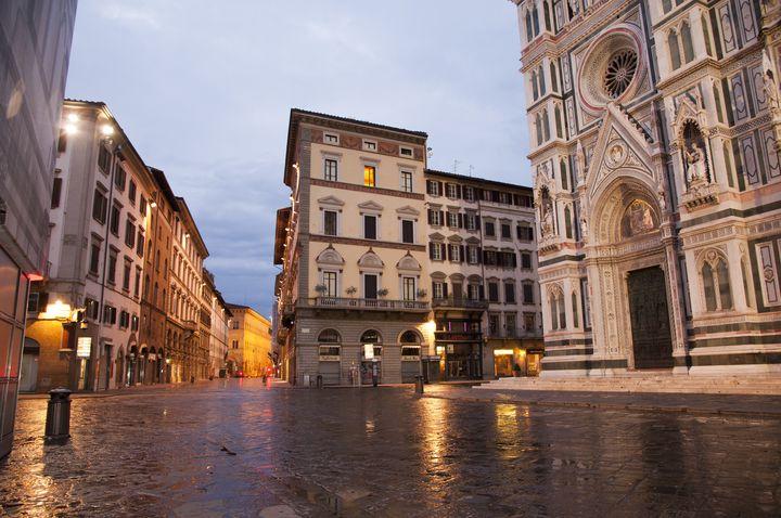 芸術の街、フィレンチェも外せない観光名所ですね。