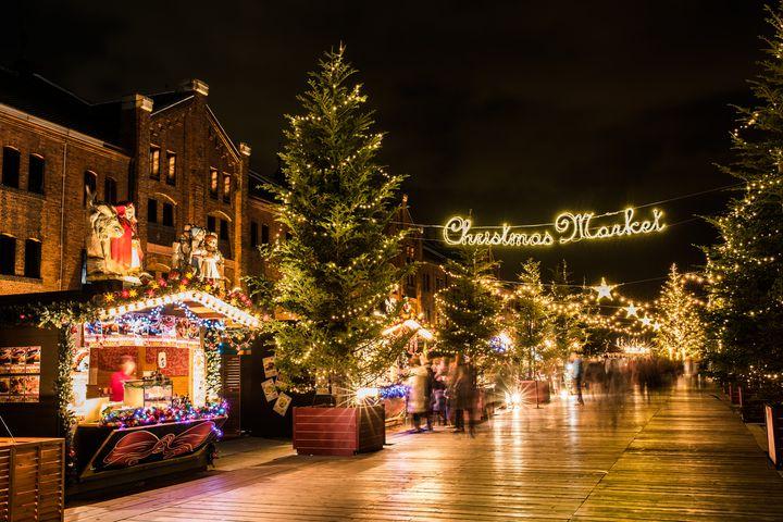 まるでドイツのクリスマス!横浜赤レンガ倉庫で「クリスマスマーケット」開催