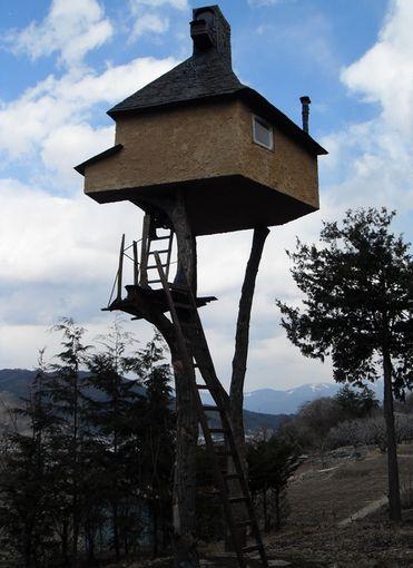 世界で最も危険な茶室!長野にある「高過庵」のありえない設計とは
