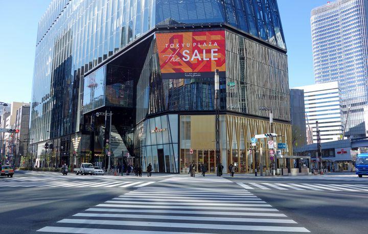 【終了】ロッテ免税店も登場!銀座最大級の商業施設「東急プラザ銀座」来年3月OPEN
