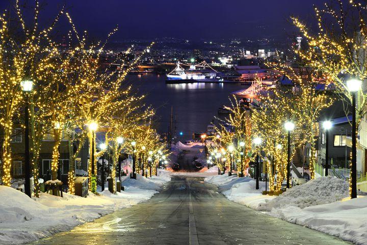 【終了】幻想的な街を楽しもう。北海道・函館で「はこだてイルミネーション」開催。