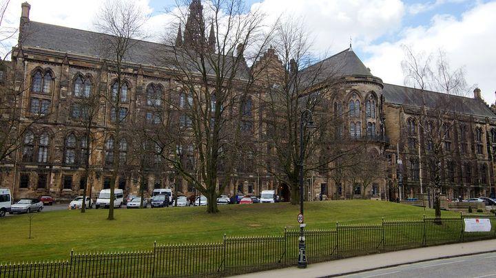 グラスゴー大学の敷地内にあるスコットランド最古の公立博物館